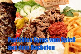 Gyros vom Spieß backofen Braten Klassisch Traditionell Rezept Griechisch griechische zubereitung grill BBQ