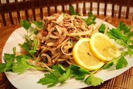 Türkische Salat Zwiebel Sumak Sumach Rezept