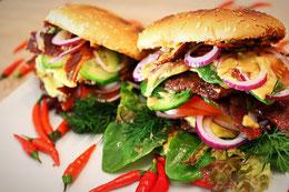 Burger Thailändische Küche BBQ Grillen
