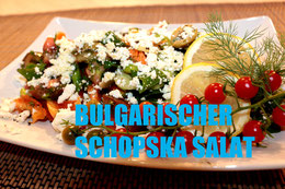 Bulgarien bulgarische küche rezept shopska schopska vegetarisch rohkost