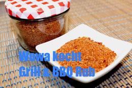 Grill und Barbeque Rezept Selbstgemachte rub sauce marinade