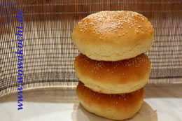 Burger Brötchen Bun Buns Rezept