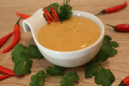 Erdnuss Soße Sate sauce Peanut sauce rezept