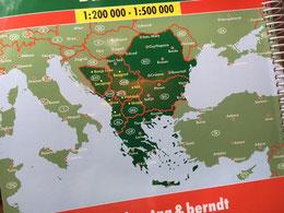Quelle: freytag&berndt, Superatlas Balkan Süd