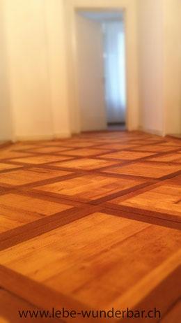 Holzboden geschliffen & geölt #wooden #floor #oiled #sanded #lebewunderbar.ch