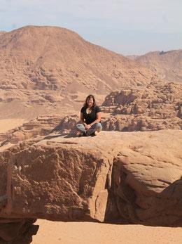 Herausforderung für die Seele: Wadi Rum.