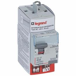 Interrupteur différentiel 30mA pour la protection des personnes contre les risques électriques