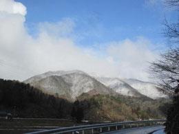 冬の隠岐の郷山!・・・ 美しい❤
