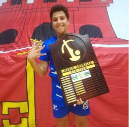 Riccardo Natoli Campione del Mondo a squadre per la quarta volta