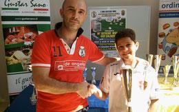 Riccardo Natoli vincitore cat. Under 15