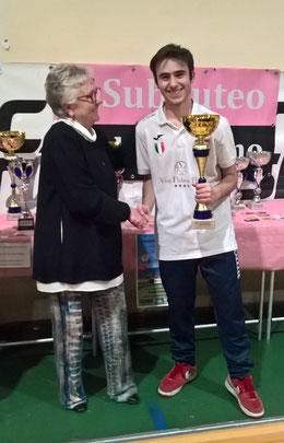Roberto Manzella finalista Trofeo Artisicana