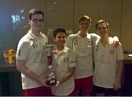 Il Messina Juniores vincitore della Coppa Italia