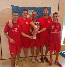 Il Messina vincitore del torneo