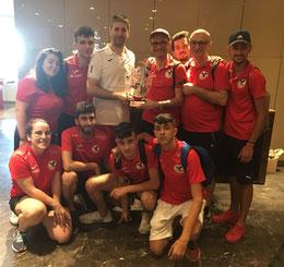 Il Barcellona Mortellito vincitore torneo a squadre