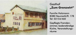 "Logo Gasthof ""Zum Grenzwirt"""