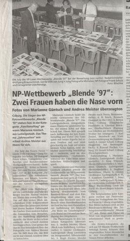 Zeitung Neue Presse Coburg