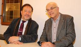 Verwaltungsdirektor Michael Szentei-Heise und Michael Brockerhoff, Vorstandsvorsitzender der Bürgerstiftung Gerricus (Foto: Angelika Fröhling)