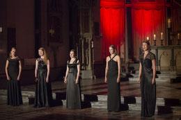 Die fünf Sängerinnen aus Leipzig  Foto: Sibylle Pietrek