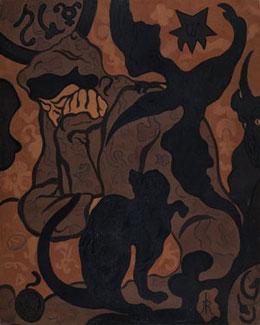 Paul Ranson (1861-1909) La Sorcière au chat noir, 1893