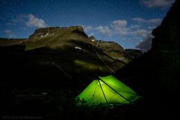Innerdalen, Trollheimen, Hilleberg, Muddus, Norway, Norge, Trekking, Wandern, Hiking, Tent