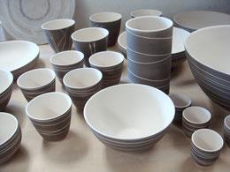 Geschrühte Keramik