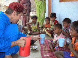 Milchprojekt Prasad Ganeshpuri