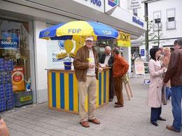 FDP im Wahlkampf