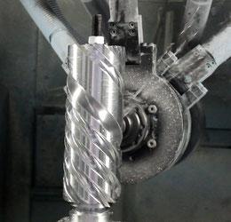Verdichterschraube für Dampfmotor