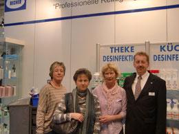 Mitglieder des Landesverbandes am Messestand unseres Koopreationspartners Dr. Becher GmbH