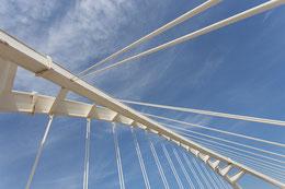 Die Brücke Bac de Roda von Santiago Calatrava von Tobias Gawrisch (Xplor Creativity)