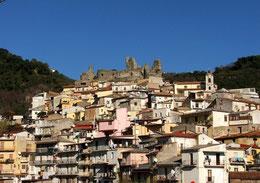Nicastro in Lamezia Terme in Kalabrien, Urlaub in Calabria