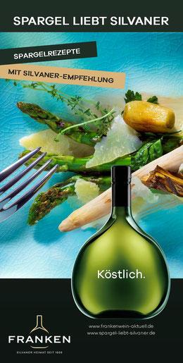 Die besten Spargelrezepte aus Franken - Spargel liebt Silvaner