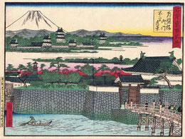 江戸時代の常磐橋 写真提供紅林章夫氏