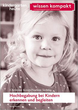 Buchcover: aus der Reihe wissen kompakt, Hochbegabung bei Kindern erkennen und begleiten