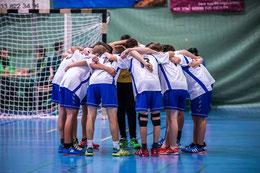 Das U17-Team erwartet in der Meistergruppe härtere Gegner. Foto: Ueli von Allmen, HG Bödeli