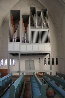 Foto der Steinmeyer-Orgel in St. Andreas, Hamburg