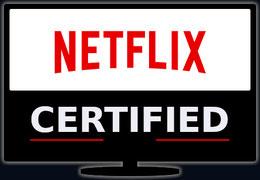 Netflix logo certifié