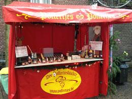 Poffertjesstand Weihnachtsmarkt Kempen