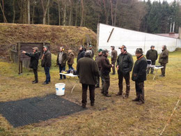 Fangschuss-Seminar 2015 Hubertus Gießen
