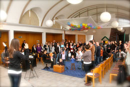 Am Sonntag feiern wir einen Familiengottesdienst