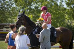 Derby-Siegerin Ilona Oser(-Lüdi)