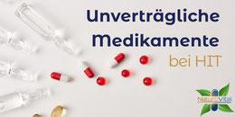 Unverträgliche Medikamente bei Histaminunverträglichkeit / Histaminintoleranz