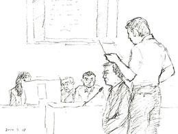 九電証人・小鶴氏を鋭く反対尋問する原告側・武村弁護士