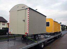 Mit dem Lastzug kam der Wagen von Weiro nach Sehnde – Foto: JPH