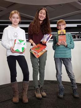 von links: Friederike Nerjes, Sarah-Julia Drejsler und Arvid Humpert. (Foto: TÖP)