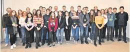 Ein offenes Gespräch führten die Schüler und Schülerinnen der 10Gc  mit dem SPD- Bundestagsabgeordneten Matthias Miersch (Mitte) im Berliner Bundestag.