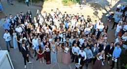 144 Absolventen verlassen die KGS mit einem Haupt- oder Realschulabschluss. Foto: Patricia Oswald-Kipper