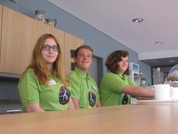 Aicha, Jan und Lena freuen sich auf die Wiedereröffnung