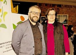 Carsten Milde und seine Stellvertreterin, Sandra Heidrich. Foto: Schütz