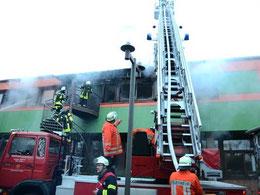 Zwei Klassenräume brannten – Foto: JPH
